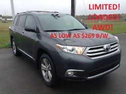 2013 Toyota Highlander Limited   AWD