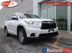 2016 Toyota Highlander LE  - Certified -  Bluetooth - $255.91 B/W