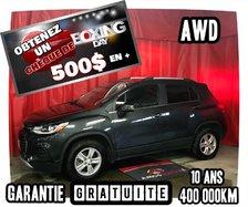 Chevrolet Trax LT * AWD * 500$ EN CADEAU *  2017