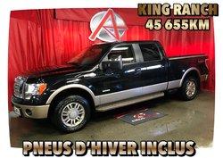 Ford F-150 4X4 * KING RANCH * PNEUS HIVER INCLUS *  2012