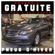 Honda Civic Sdn *PNEU HIVER INCLUS*  2015