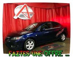 Mazda Mazda3 * PNEUS HIVER INCLUS *  2009