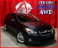 Subaru Impreza AWD * CUIR * TOIT OUVRANT *  2014