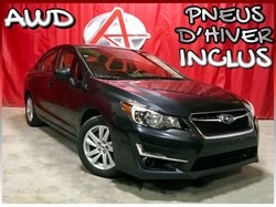 Subaru Impreza AWD * PNEUS HIVER INCLUS *  2016