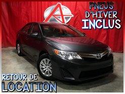 Toyota Camry LE * PNEUS HIVER INCLUS *  2014