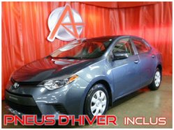 2014 Toyota COROLLA LE CVT *PNEU HIVER INCLUS*