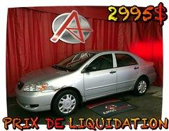 Toyota Corolla * PRIX IMBATTABLE *  2008