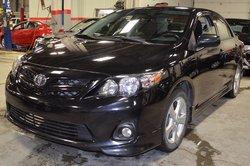 Toyota Corolla S *GARANTIE PROLONGÉE  2012