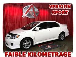 Toyota Corolla SPORT * BAS MILLAGE *  2012