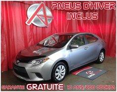 2014 Toyota Corolla *PNEUS HIVER INCLUS*