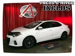 Toyota Corolla * SPORT * PNEUS HIVER INCLUS*  2015