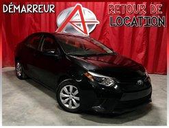 Toyota Corolla LE * RETOUR DE LOCATION *  2015