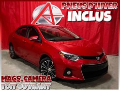 Toyota Corolla S * GROUPE AMÉLIORÉ  * PNEUS HIVER INCLUS *  2015