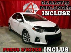 Toyota Corolla S * PNEUS HIVER INCLUS *  2015