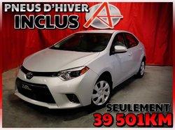 Toyota Corolla LE *PNEUS D'HIVER ET DÉMARREUR*  2015