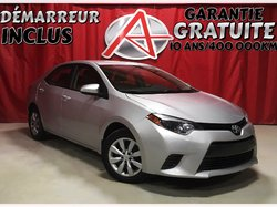 Toyota Corolla * GARANTIE GRATUITE 10 ANS/400 000KM *  2016
