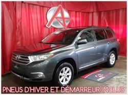 2012 Toyota Highlander *PNEU HIVER INCLUS*