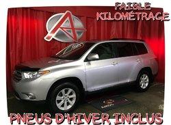 Toyota Highlander AWD * PNEUS HIVER INCLUS *  2013