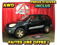 Toyota RAV4 AWD * PNEUS HIVER INCLUS *  2001