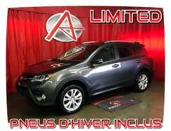 Toyota RAV4 AWD * LIMITED * PNEUS HIVER INCLUS *  2013