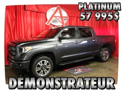 Toyota Tundra 4X4 * DEMO * PLATINUM *  2018