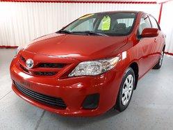 Toyota Corolla CE  GROUPE CA  2013