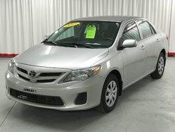Toyota Corolla CE GROUPE ÉLECTRIQUE A/C  2013
