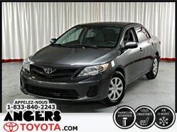 Toyota Corolla CE GOUPE ÉLECTRIQUE A/C  2013