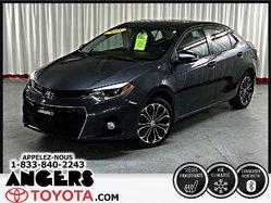 Toyota Corolla S TOIT MAGS  2015