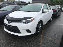 Toyota Corolla LE Cam de Recul ,siege chauffant  2015