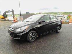 Hyundai Accent GL AIR CLIM+SIÈGES CHAUFFANTS  2013