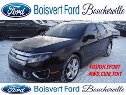 Ford Fusion SPORT CUIR TOIT AWD  2010