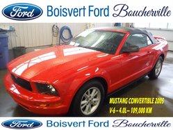 2005 Ford Mustang CONVERTIBLE V-6 EN CUIR