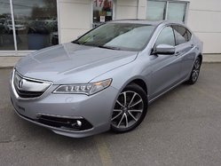 2015 Acura TLX V6 ELITE/NAVI ** 34481 KM **