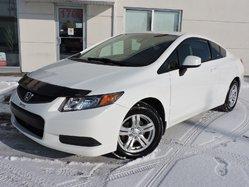 2012 Honda Civic Cpe LX/MAGS/ **57 846 KM **
