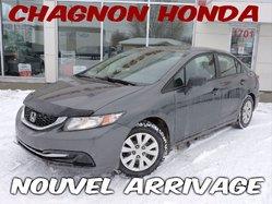 Honda Civic Sedan DX  2013
