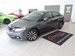 Honda Civic TOURING - CERTIFIÉ  2015
