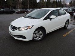 Honda Civic LX - CERTIFIÉ  2015