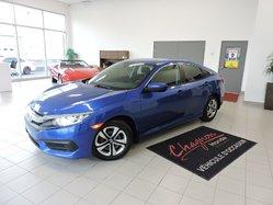 Honda Civic LX - CERTIFIÉ  2016