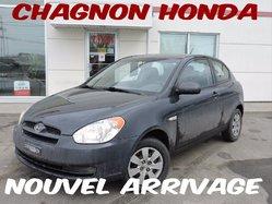 2011 Hyundai Accent L / PNEUS D HIVER  **42 456 KM