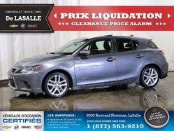 Lexus CT200H HYBRIDE /  115250KM GARANTIE DISPONIBLE.  2015