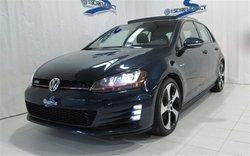 2016 Volkswagen GTI MANUELLE FULL!!!! AUTOBAHN, ENS. TECH, GPS, FENDER, CUIR!!!