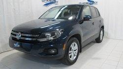 2012 Volkswagen TIGUAN TRENDLINE 4M AWD, BAS KM, JAMAIS ACCIDENTÉ