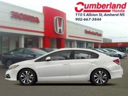 2013 Honda Civic Sedan Touring  - Navigation -  Sunroof