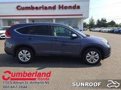 2014 Honda CR-V EX  - Sunroof -  Bluetooth