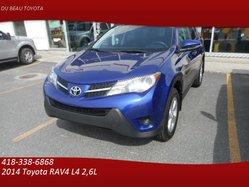 Toyota RAV4 - PEA PLATINE - LE AWD - SIÈGES CHAUFFANTS -  2014