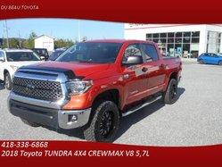 Toyota Tundra 4X4 CrewMax TRD - 6 000 $ OPTIONS - PNEUS 35'' KO2 - CREWMAX  2018