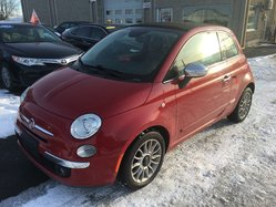 2014 Fiat 500C CONVERTIBLE CUIR MAGS AC