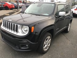 Jeep Renegade Limited 4x4 gps cuir ac toit ouvrant mags  2017