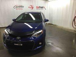 Toyota Corolla CERTIFIÉ S GARANTIE PROLONGÉE PEA 200 000 KM  2014